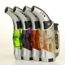 Butane lighter gas lighter advanced mini portable torch flame lighter