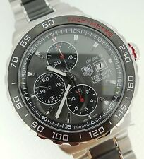 Tag Heuer Formula 1 F1 Automatic Chronograph Anthracite Dial SS CAU2011.BA0873