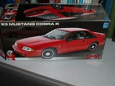 GMP 1993 FORD MUSTANG SVT COBRA 5.0 1/18 RED COUPE RARE!