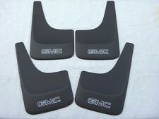 GMC SIERRA YUKON SAVANA SAFARI JIMMY SONOMA 1999 - 2014 MUD FLAPS GUARD LOGO SET