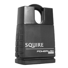 Squire POL55CS 55mm powerlok solid steel closed shackle security padlock