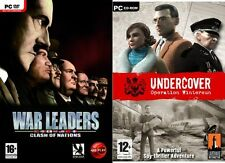 war leaders clash of nations & Undercover  Operation Wintersun