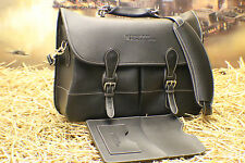 Mulholland Brothers Angler's Bag BARRINGTON Vtg Leather Briefcase Bag MSRP$565