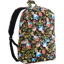 Loungefly Alice In Wonderland Floral Backpack Everyday Backpack NEW