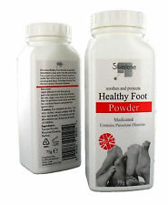 Silverlene Healthy Foot Athlete Powder Medicated Anti Fungal Skin Feet Toes 75g