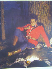 Canadian Mountie RCMP at Camp Fire