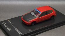 1/64 Tarmac works Honda Civic EG Group A Red  (Size kyosho Tomica )