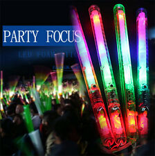 Multicolor Light-Up Blinking Rave Sticks LED Flashing Strobe Wands Concerts Glow