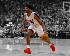 Miami Heat JUSTISE WINSLOW Glossy 8x10 Photo Spotlight Basketball Poster Print