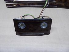 BMW 51166951149 E60 E61 POPLAR WOOD TRIM CENTER CONSOLE REAR OEM 535I 550I 528I