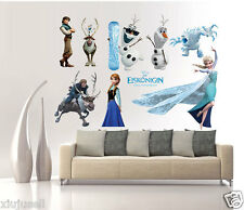 Kids Mural Removable For DISNEY FROZEN Anna Olaf Wall Stickers Decal Home Decor