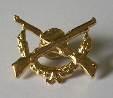 GREEK CYPRUS ARMY INFANTRY LAPEL SCREW  BADGE INSIGNIA ORIGINAL