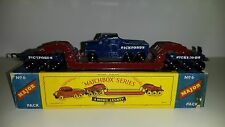 Matchbox Modellauto Major Pack M-6a 200 ton Transporter 1960/66 in Repro Box top