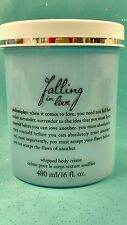 HUGE 16oz Philosophy FALLING IN LOVE Whipped Body Creme Cream Lotion Moisturizer
