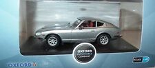 RARE OXFORD DIECASTS DATSUN 240Z IN METALLIC SILVER ALL SOLD OUT 1:43 MB