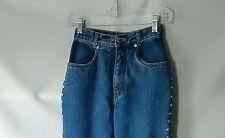 """Sz 0 1 2 LAWMAN World Class Denim Western Jeans 22x35"""" Slim Skinny Tall Mid-Rise"""
