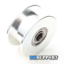 3 x 20T 3mm Bore 6mm GT2 Belt Smooth Idler Pulley with Bearing for 3D Printer