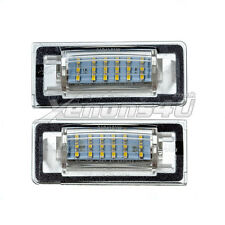 Audi TT Mk1 8N 1999-2006 LED Number License Plate Light Bulbs Xenon White