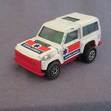 685D Majorette Motor Range Rover Ambulance