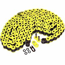 520 x 120 Links Motorcycle ATV YELLOW O-Ring Drive Chain 520-Pitch 120-Links