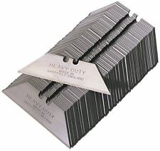 100 x HEAVY DUTY STANLEY knife BLADES in sealed  packs