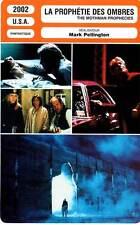 FICHE CINEMA : LA PROPHETIE DES OMBRES - Gere,Linney 2002 The Mothman Prophecies