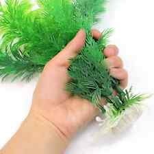 Wholesale Green Artificial Plastic Plant Grass Fish Tank Aquarium Ornament Decor