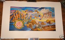 THE DOORS FULL CIRCLE ~ LTD EDITION PRINT HAND SIGNED & NUMBERED BY JOE GARNETT