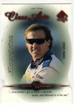 1X RUSTY WALLACE 1999 SP Authentic #64 CLASS ACTS OVERDRIVE INSERT xx/200