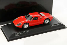 Porsche 904 GTS Year 1964 signal red 1:43 Minichamps