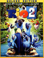 Rio 2 [Blu-ray/DVD] [Deluxe Edition] FREE SHIPPING