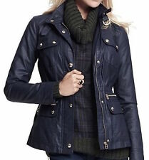 Tommy Hilfiger Womens Utility Jacket Color Masters Navy NWT Size M MSRP 129.50$