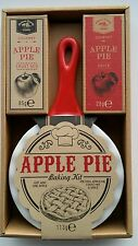 Apple Pie Baking Kit Gift Present with dish crust mix and spice