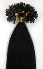 """Fusion Pre Bonded Nail/U Tip Remy Human Hair Extensions Straight  100S16-26"""""""