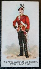 The Royal Scots (Lothian Regiment) 1912  British Army  Original Vintage Card