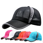 Hot Women Men Sport Baseball Mesh Hat Running Visor Cap Summer Outdoor Golf Hat