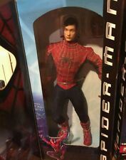 """Marvel Collector Series SPIDER-MAN / TOBEY MAGUIRE 12"""" Movie Figure"""