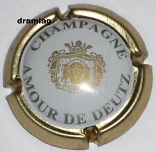 Capsule de Champagne :  Rare !!!  DEUTZ  , Amour de Deutz  , n° 31 , cotée 25€ !