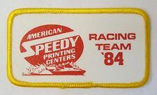 AMERICAN SPEEDY 1984 RACING TEAM Unlimited Hydroplane boat shirt or jacket patch