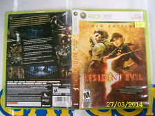 XBOX360 GAME RESIDENT EVIL 5 (ORIGINAL USED)