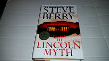 Cotton Malone: The Lincoln Myth by Steve Berry (2014, Hardcover) SIGNED 1st/1st