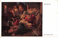B99154 austria christnacht born of Jesus   painting religious postcard