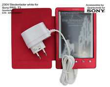 230V Netzteil für Sony PRS-T3 PRS T 3 eBook Reader Lader Sony Steckerlader, weiß