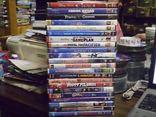(23) Childrens Adventure DVD Lot: (9) Disney Cars Finding Nemo Pirates Pacifier