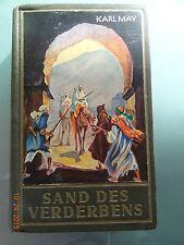 Karl May`s gesammelte Werke- Sand des Verderbens - Reiseerzählung, Band 10, 1952