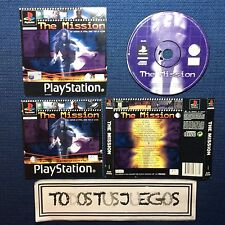 The Mission  Playstation Play Station Psone Psx Ps1 Ps2 Ps3