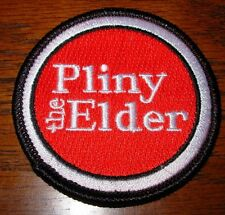 RUSSIAN RIVER BREWING CO Pliny The Elder Logo PATCH label craft beer brewery