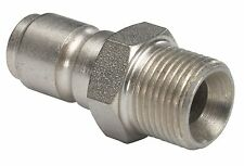 "New 1/4"" Male Pressure Washer Mini 11.6mm Quick Release Plug 150 Bar"
