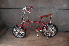 Vintage Style STINGRAY Metal BICYCLE Red Bike Retro Art Sculpture Figurine