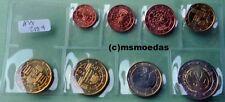 Oesterreich 8 Euromünzen 2009 KMS mit 1 Cent bis 2 Euro WWU EMU coins moedas unc